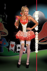 Queen Of Heartbreakers Light Up Adult Plus Costume