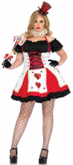 Queen Of Hearts Adult Plus Costume