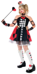 Queen Of Hearts Wonderland Teen Costume