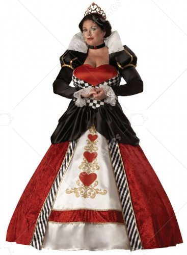 Queen of Hearts Plus Costume