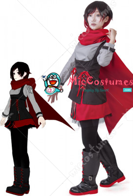 RWBY Season 2 Ruby Rose Cosplay Costume