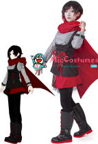 RWBY Season 2 Ruby Rose Cosplay Kostüm
