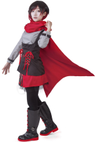 RWBY 2 Ruby Red Rose Cosplay Costume