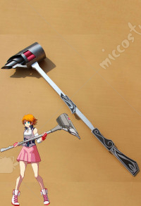 RWBY Nora Valkyrie Cosplay Weapon Magnhild