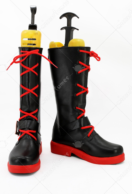 RWBY 2 Ruby Rose Cosplay Shoes