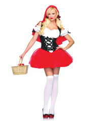 Racy Red Riding Hood Adult Costume