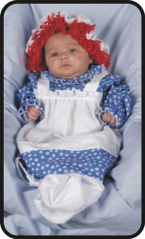 Raggedy Ann Bunting Infant Costume
