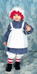 Raggedy Ann Toddler Costume