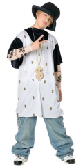 Rapsta Child Costume