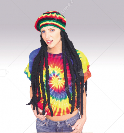 Rasta Wig with Cap