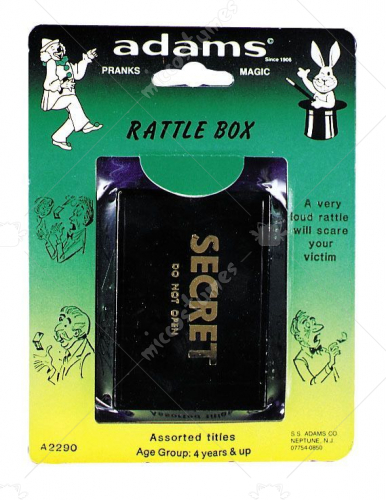 Rattle Box Rack Pack
