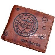Reborn Bifold Leather Wallet Brown