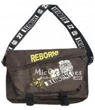 Reborn Grey Satchel