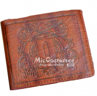 Reborn Vongola Bifold Leather Wallet Brown