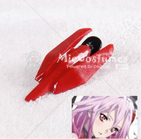 Red Hair Clip For Guilty Crown Yuzuriha Inori Cosplay