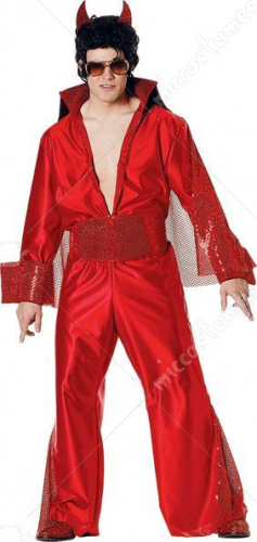 Red Hot Idol Adult Costume