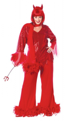 Red Hot Mama Plus Size Costume