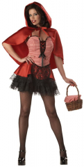 Red Hot Riding Hood Girls Costume