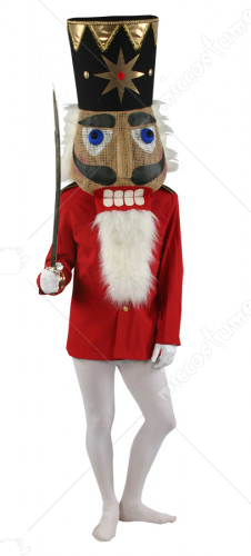 Red Nutcracker Or Mouse King Coat Adult Costume