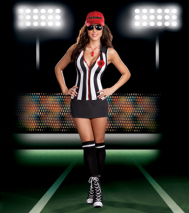 Referee Sheila B Cheatin Sexy Adult Costume