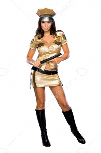 Reno 911 Female Deputy Costume