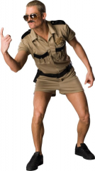 Reno 911 Lt Dangle Standard Adult Costume