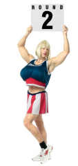 Ring Girl Guy Adult Costume