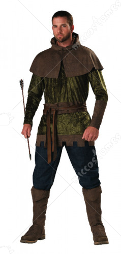Robin Hood Adult Plus Size Costume