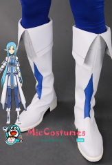 Sword Art Online 2 ALO Asuna Cosplay Shoes