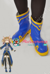 Sword Art Online 2 ALO Silica Cosplay Shoes