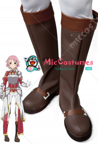 Sword Art Online 2 ALO Lisbeth Cosplay Shoes