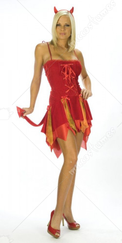 Sexy Flirty Devil Costume