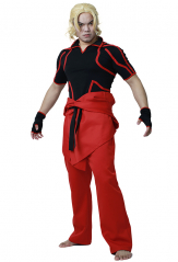 Street Fighter V Ken Adult Cosplay Costume