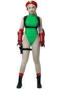 Street Fighter V Cammy Adult Cosplay Costume