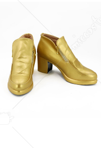 JoJos Bizarre Adventure Golden Wind Bucciarati Cosplay Shoes