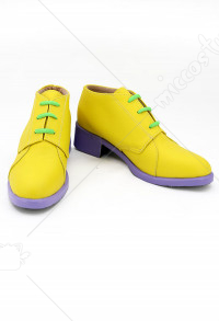 JoJos Rohan Kishibe Cosplay Shoes