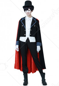 Sailor Moon Tuxedo Mask Cosplay Costume