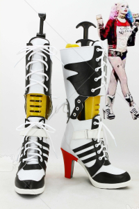 Suicide Squad Harley Quinn Cosplay Shoes