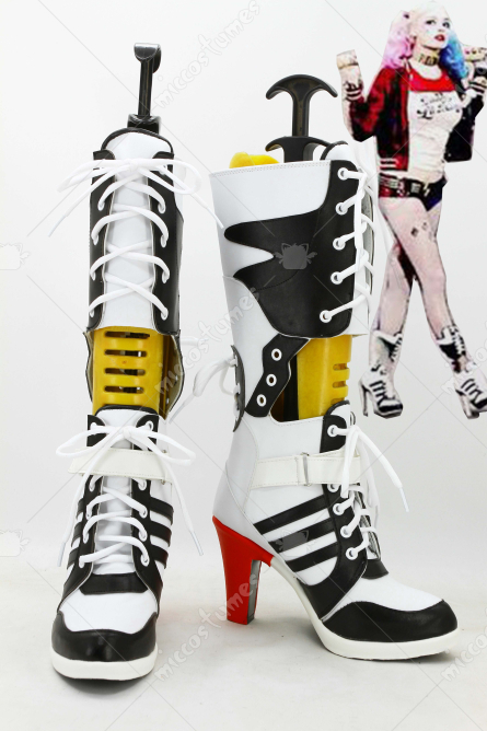 Suicide Squad Harley Quinn Cosplay Schuhe