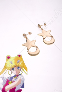 Sailor Moon Tsukino Usagi Cosplay Earrings