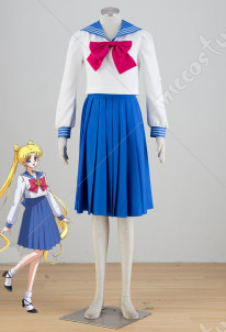 Sailor Moon Tsukino Usagi Cosplay School Uniform