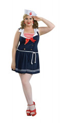 Sailor Girl Adult Plus Costume