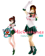 Sailor Moon Kino Makoto Sailor Jupiter Cosplay Costume