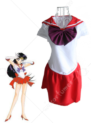 Sailor Moon Sailor Mars Cosplay Costume
