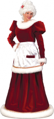 Mrs. Claus Velvet Adult Costume