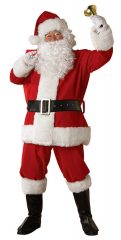 Santa Plush Regency Adult Costume