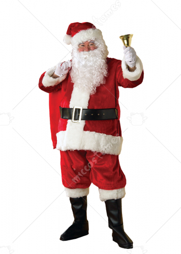 Santa Premiere Suit Adult Costume