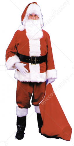 Santa Suit Complete Adult Costume