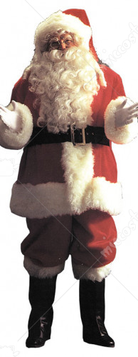 Santa Suit Deluxe 9191 Adult Costume