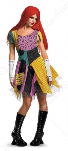 The Nightmare Before Christmas Sassy Sally Adult Costume